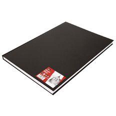 DAS Visual Diary Hardback A3 110 Sheet Black A3