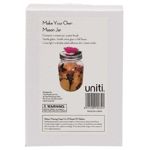Uniti Make Your Own Mason Jar