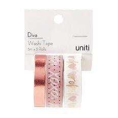 Uniti Diva Foil Washi Tape 3 Pack