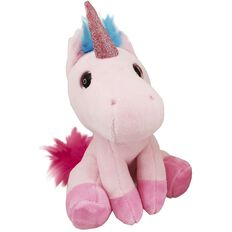 Antics Unicorn Sitting Plush Exclusive Assorted 15cm