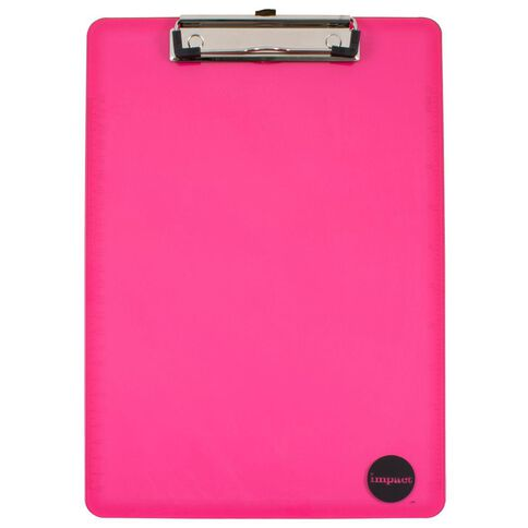 WS Clipboard Pink A4