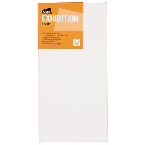 DAS 1.5 Exhibition Canvas 6 x 12in White