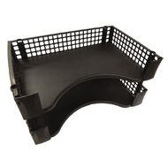 Office Supply Co 2 Document Tray Pack W/Stackers Black
