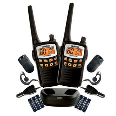 Uniden Uh710-2Tp UHF Radio Twin Pack Black