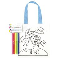 Kookie Colour Your Own Tote Bag Assorted 1 Pack