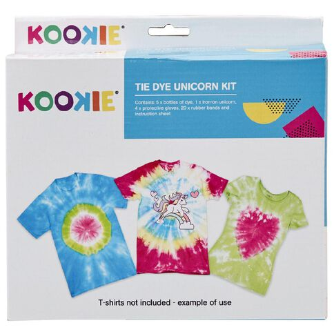 Kookie Tie Dye Kit Unicorn Multi-Coloured