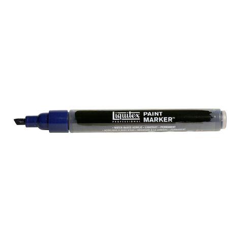 Liquitex Professional Acrylic Marker 2-4mm Prussian Hue Blue