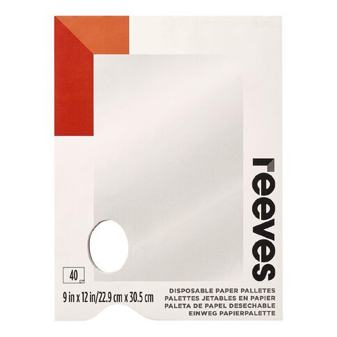 Reeves Tear Off Palette