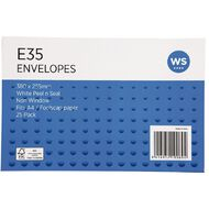WS Envelope E35 Peal & Seal 25 Pack