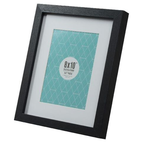 Promenade 8 x 10 Photo Frame Black