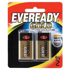 Battery Eveready Gold 9 Volt 2Pk