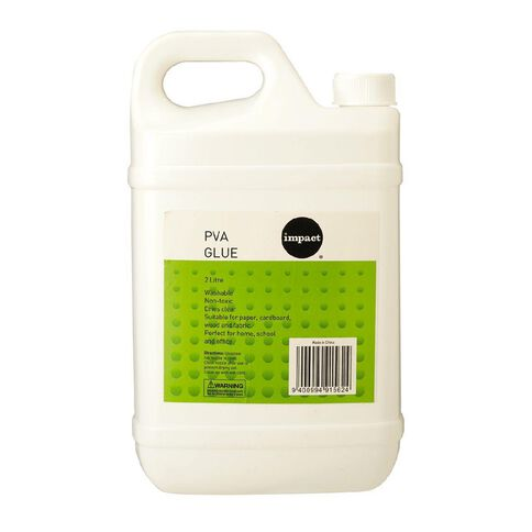 Impact PVA Glue White 2L