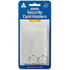 Kevron Access And Security Card Holders 2 Pack