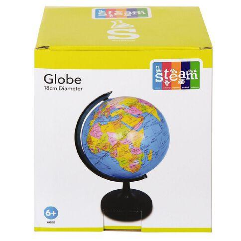 STEAM Globe 18cm Diameter
