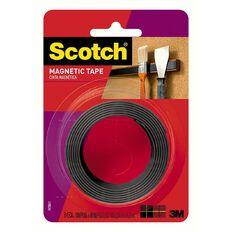 Scotch Magnetic Tape 12.7mm x 1.22m Black