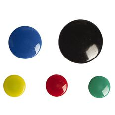 Impact Impact Magnetic Buttons Assorted 50 Pack