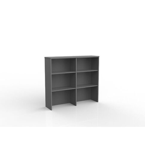 Ergoplan Credenza/Storage Hutch 1200 Silver
