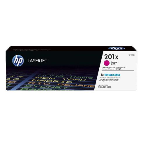 HP Toner 201X Magenta (2300 Pages)
