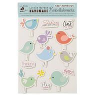 Little Birdie Handmade Stickers 3D Animals & Birds