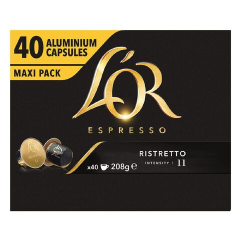 L'OR Ristretto Intensity 11 Capsules 40 Pack