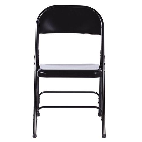 Workspace Folding Chair Black