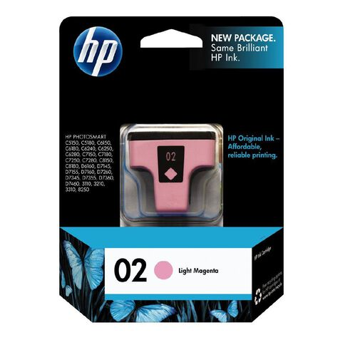 HP Ink 02 Light Magenta (230 Pages)