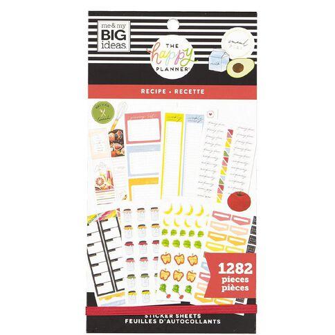 Me & My Big Ideas Sticker Book Recipe