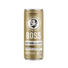 BOSS Coffee Iced Vanilla Latte 237ml