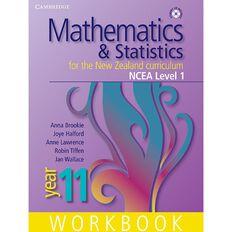 Ncea Year 11 Mathematics And Statistics Workbook