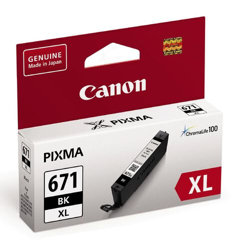 Canon Ink CLI671XL Black (690 Pages)