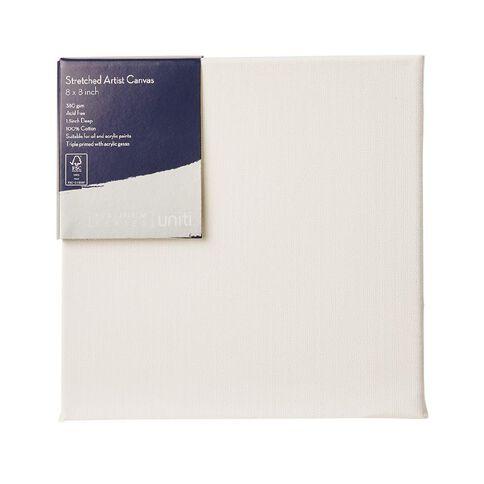 Uniti Platinum Canvas 8x8 Inches 380Gsm