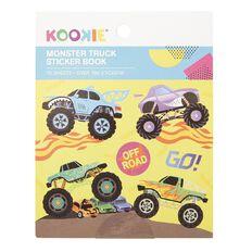 Kookie Mini Sticker Book 12 Sheets Monster Truck