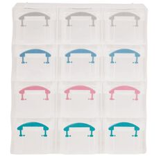 Uniti Plastic Storage Box with 12 Compartments