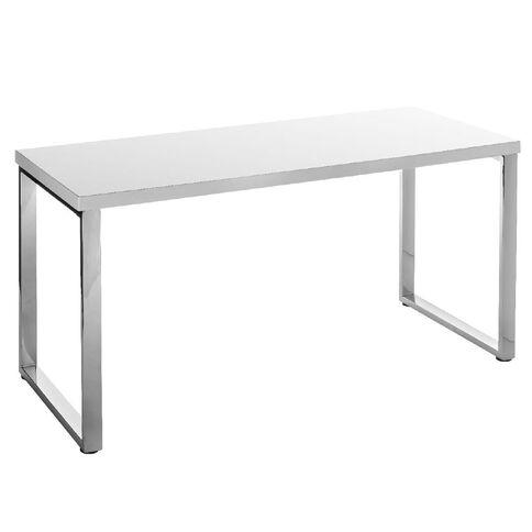 Jasper J Loop Desk Gloss White