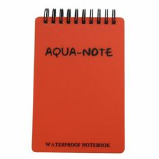 AquaNotes Notebook 150 x 100mm Waterproof 50 Leaf Red