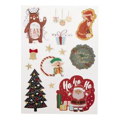 Uniti Santas Grotto Dimensional Stickers