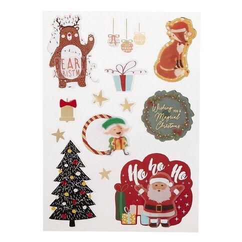 Uniti Santas Grotto Dimensional Stickers