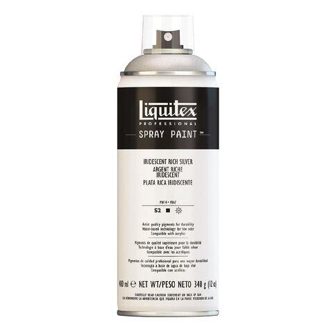Liquitex Spray 400ml Iridesc Rich Silver