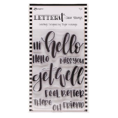 Ranger Letter It Clear Stamps Greetings