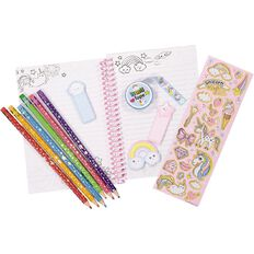 Hot Focus Colouring Journal Set Unicorn