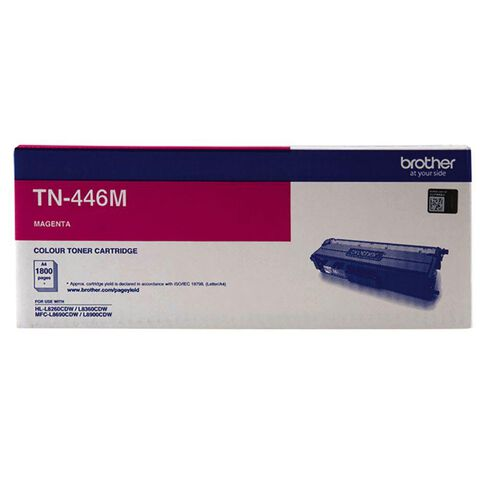 Brother Toner TN446M Magenta (6500 Pages)