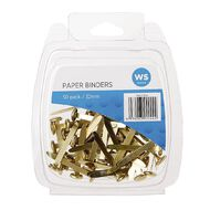 Impact Paperbinders 32mm 50 Pack Brass