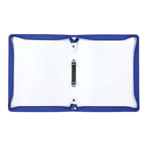 Uniti Geo Folder Zipped Multi-Coloured A4
