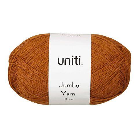 Uniti Yarn Jumbo 8 Ply Rust 300g