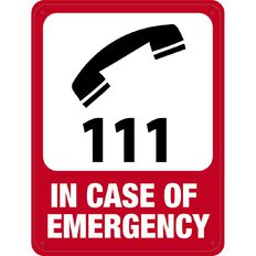 Impact In Case of Emergency Sign Large 610mm x 460mm