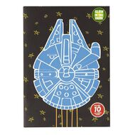 Star Wars 9 Scrapbook with Colouring
