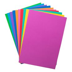 U-Do EVA Foam 10 Pack Standard Multi-Coloured