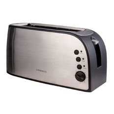 Living & Co Toaster Long 4 Slice Stainless Steel