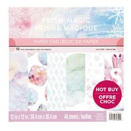 Craft Smith Paper Pad 12in x 12in Prism Magic