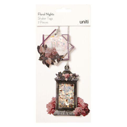 Uniti Floral Nights Shaker Tags